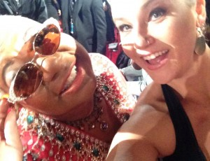 Sterling and Luenelle at the 2014 Soul Train Awards