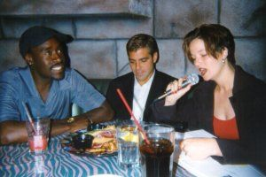 Chatting up Don Cheadle and George Clooney 1998