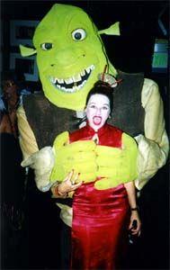 Halloween with Shrek