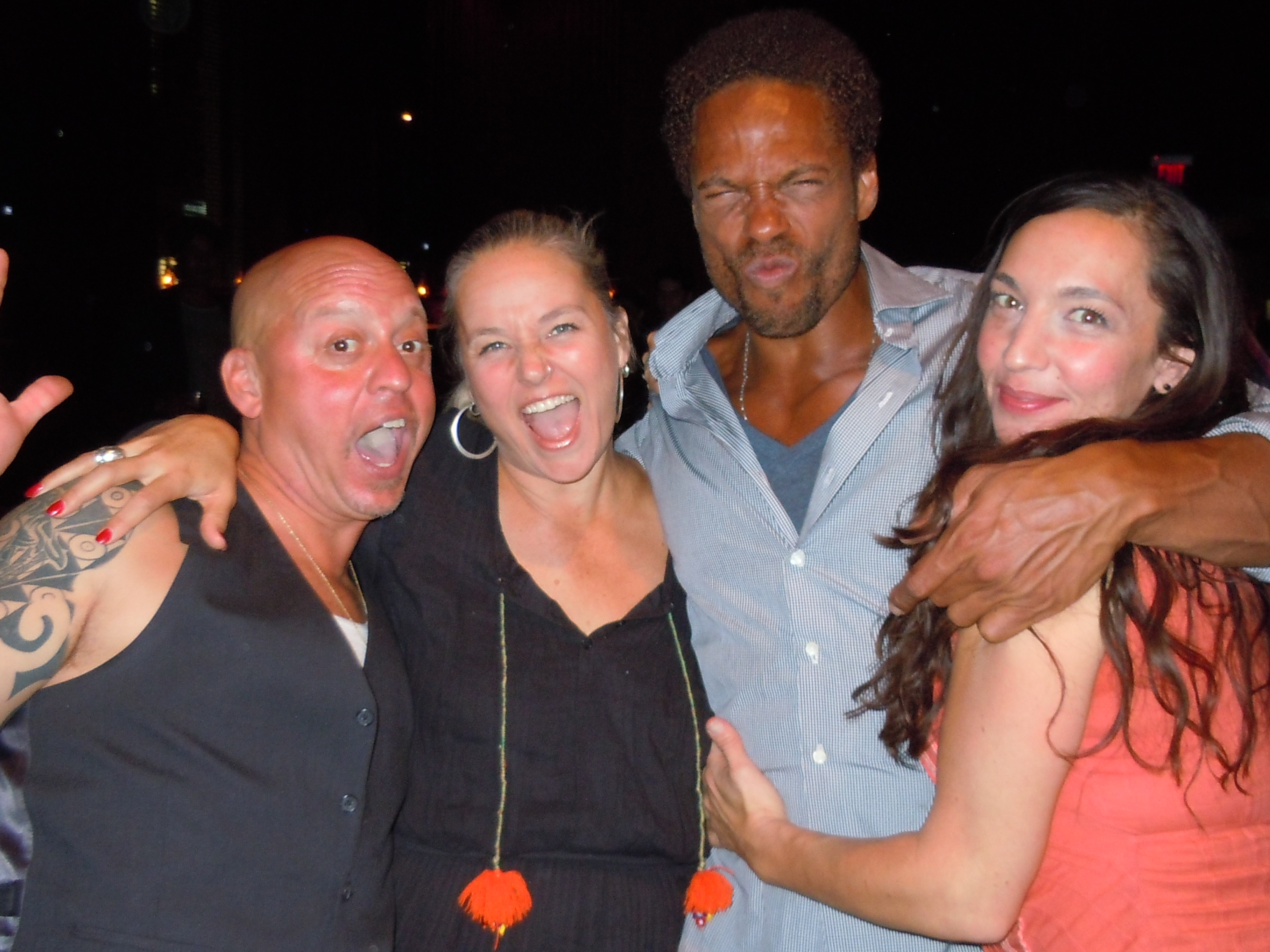Good times with Gary Dourdan and friends