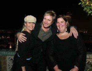All Smiles with Duran Duran and the late great Robin Rockwell