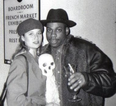 With Jam Master Jay, Gavin Convention New Orleans 1995