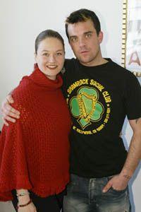Rowdy Robbie Williams